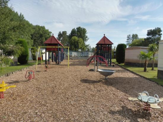 The Foxhunter Park: the play ground area
