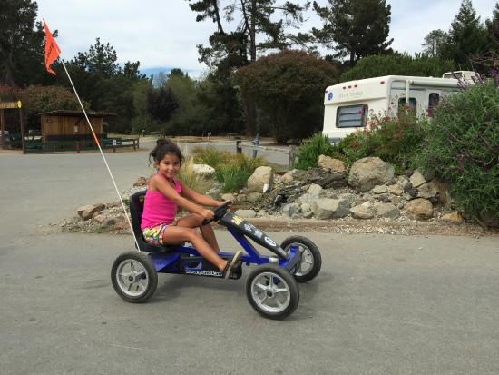 La Selva Beach, Californien: The bike carts were a big hit. So were the banana bikes!