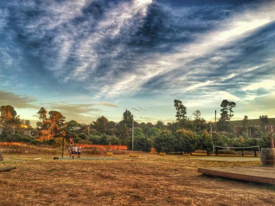 La Selva Beach, Californien: A quick pick-up basketball game