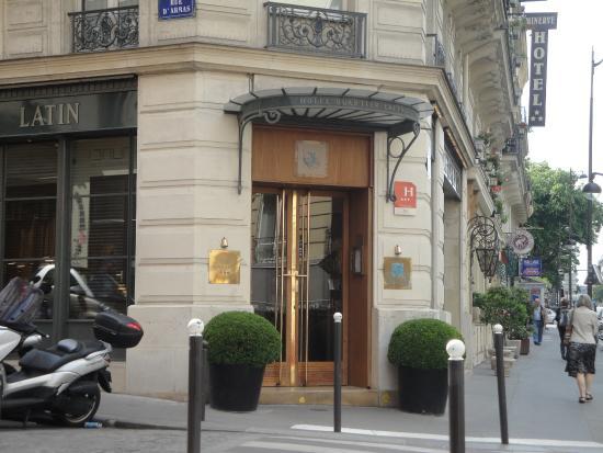 Hotel Quartier Latin: Entrada do Hotel