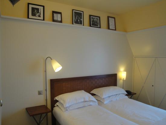 Hotel Quartier Latin: Quarto do Hotel
