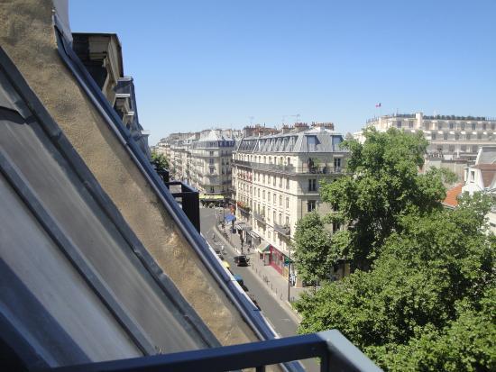 Hotel Quartier Latin: Vista do terraço do apartamento