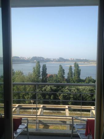 Pousada de Juventude de Porto: Vista do nosso apartamento para o Rio Douro