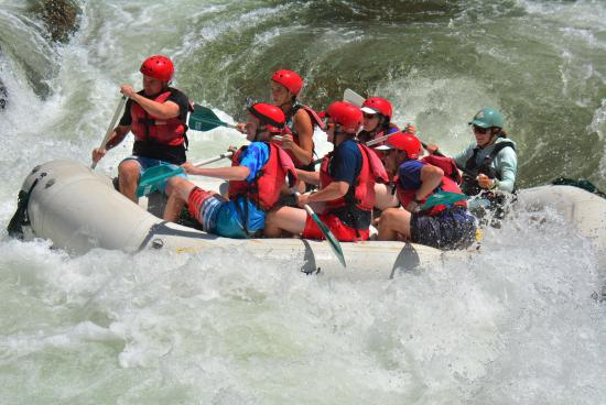 ARTA Whitewater Rafting Day Trips : Wet and wild!