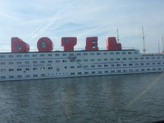 Amstel Botel: My room 2 down on left side