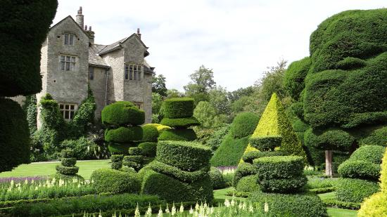 Kendal, UK: Levens Hall from the gardens