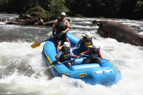 Wildwater Rafting Ocoee Great Time On The River