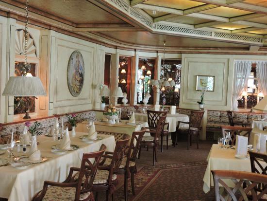 Hotel Engel Obertal : Einen Blick in den Speisesaal