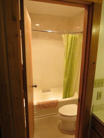 Bellevue High Country Motel: Bagno