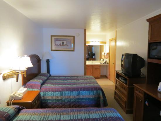 Bellevue, ID: vista della camera