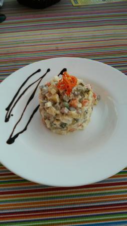 Express: Оливье в панорамном ресторане