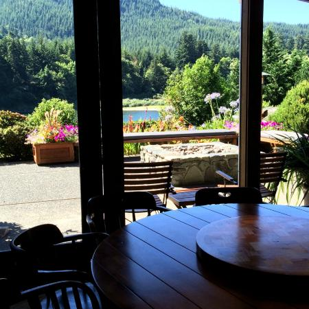 Tu Tu Tun Lodge: View from the dining room