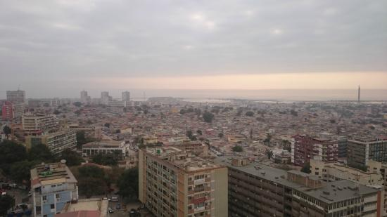 Hotel Alvalade : View from the room on the 14th floor
