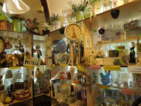 Zelenogradsk, Russland: витрина с игрушками