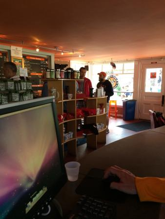 Wifi and terminals - Picture of Wired Puppy, Provincetown - TripAdvisor