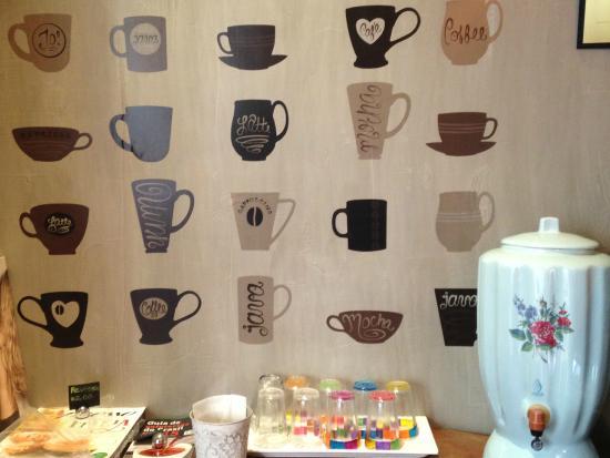 Academia do Café: Decoração