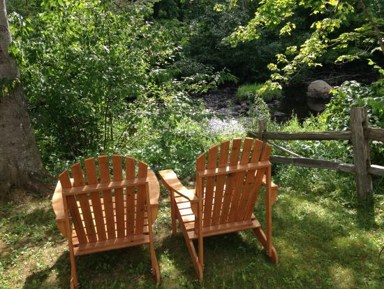 Little River Bed and Breakfast: By the river