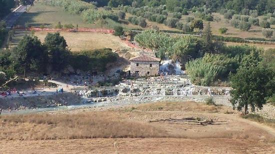 Saturnia, Italy: panorama