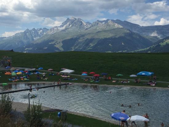 Rufalipark: Badesee im Rufelipark