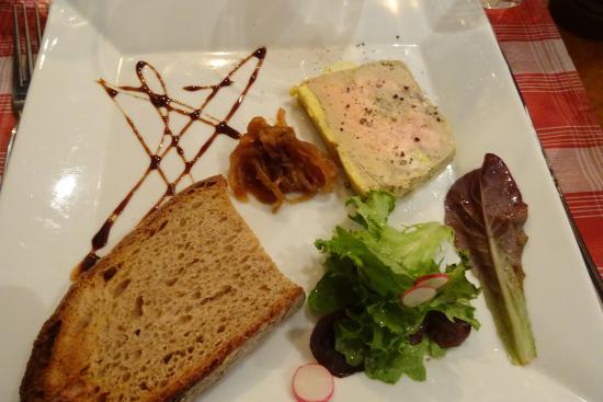 La Meissouniere: Foie gras mi-cuit