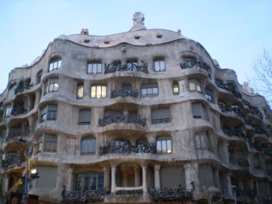 casa mil picture of la pedrera barcelona tripadvisor. Black Bedroom Furniture Sets. Home Design Ideas