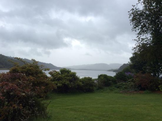 Knipoch, UK: View from grounds
