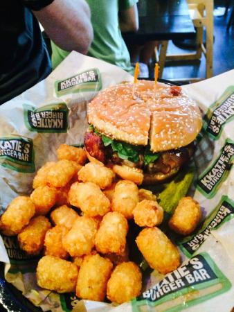 KKatie's Burger Bar: and tots