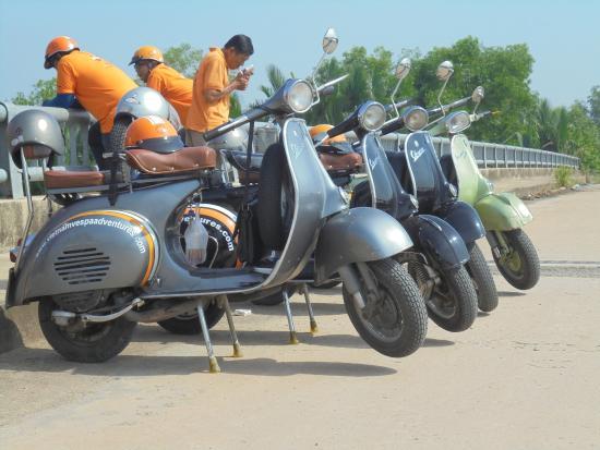 Vietnam Vespa Adventures Day Tours