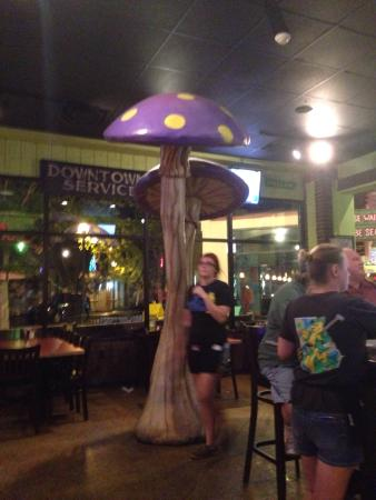 Mellow Mushroom: Clean, fun, traditional artsy MM location