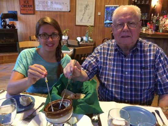 Willsboro, estado de Nueva York: Great meal. Fondue was great treat for family