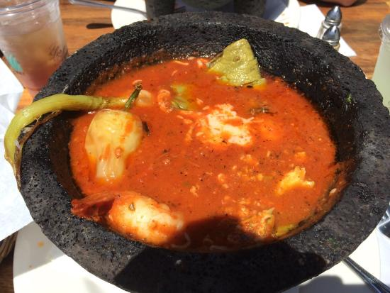 Goleta, كاليفورنيا: Shrimp Molcajetes