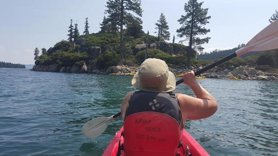 South Lake Tahoe, CA: Amazing to see the lake on a kayak