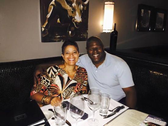 Us Enjoying My Birthday Dinner Picture Of Morton S The Steakhouse New York City Tripadvisor