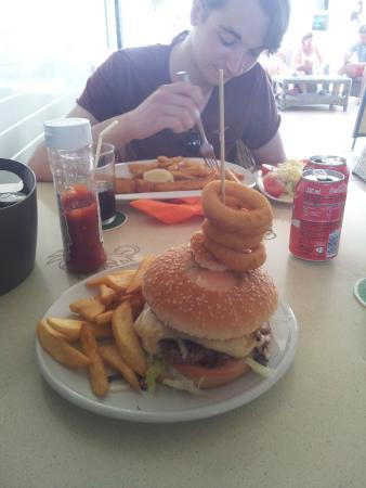 nr. 2 hamburger