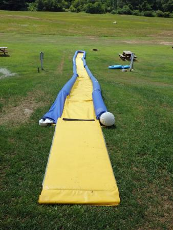 Mystic KOA : They had a slip n slide there!