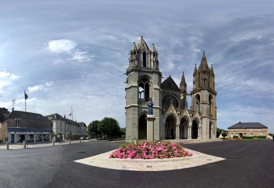 The Basilica of Our Lady of Pontmain