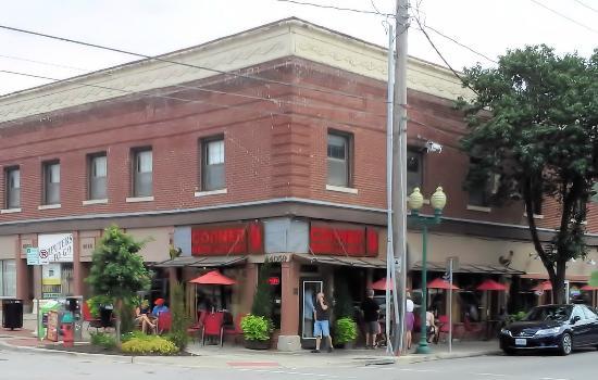 The Corner Restaurant In Westport