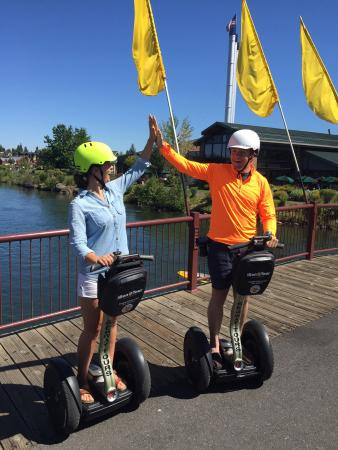 The Bend Tour Company: We had such a great experience on the Segway tour provided through The Bend Touring Company! Gre