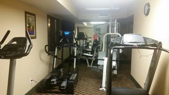 Days Inn Manitou Springs: Da Bomb workout room: new, top of the line equipment & everything works!