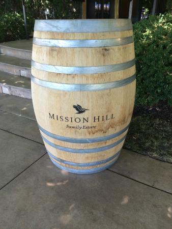 West Kelowna, Canadá: Wine Barrel