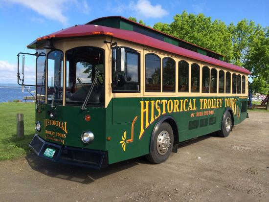 Historical Trolley Tours Of Burlington