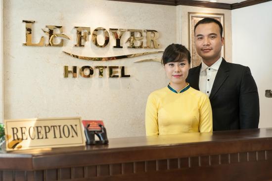 Lefoyer Hotel: Lễ Tân