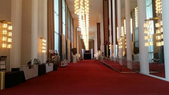 Grand Foyer Kennedy Center : Grand foyer picture of john f kennedy center for the
