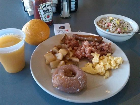 BEST WESTERN Fairfax : From the breakfast buffet...