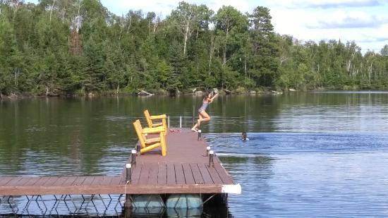 Ely, Minnesota: dock