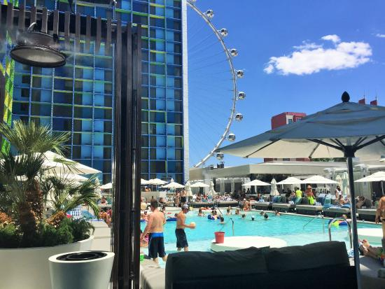 The Linq Hotel Pool Day