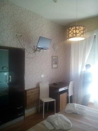 Hotel Cristallo : La camera