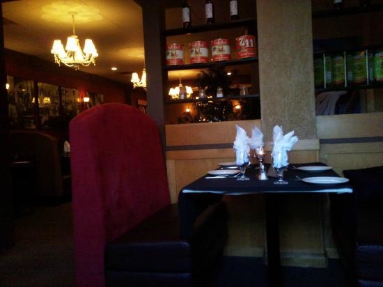 Intermezzo Restaurant : view from my table