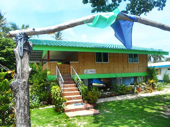 Cagbalete Island, Philippinen: A bigger kubo accommodation for a large group