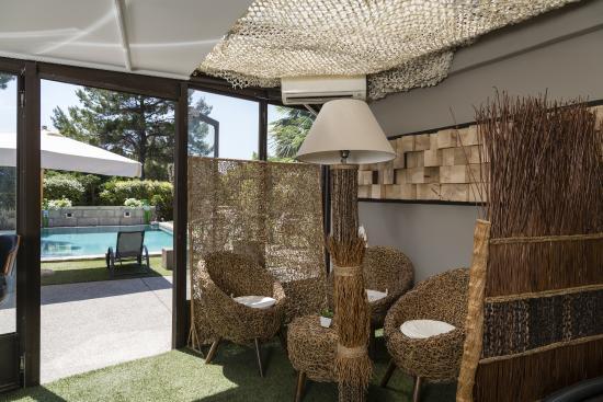Hotel Bastide de Lourmarin: Salon de thé SPA de Lourmarin